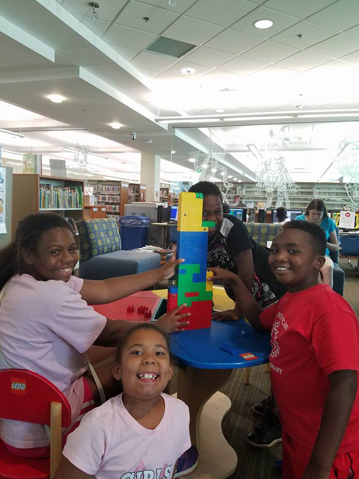 "ECC SUMMER CAMP KIDS "" LIBRARY DAY"""