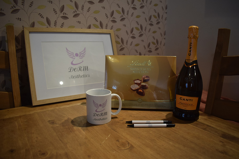 Find me on facebook for details- nominate your favourite person on Mother's Day to receive a complimentary bottle of prosecco, box of chocs and fantastic DeRM Aesthetics mug! Deadline 25th March- so get nominating!!