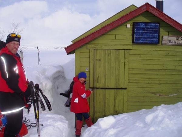 Opening up Balvass hytta