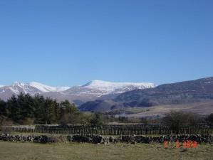 Winter wonderland in North Wales