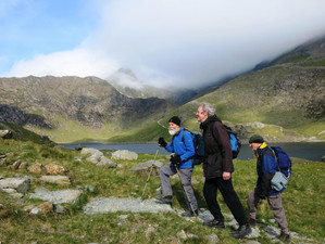 An incident on Snowdon