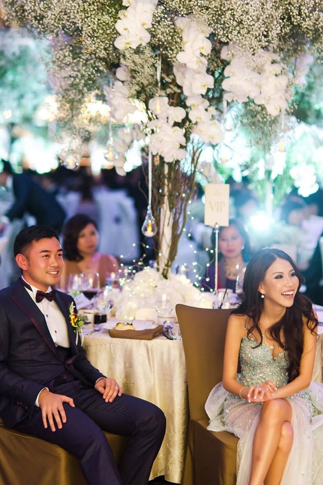 Wedding of Jason and Chelsea: Ethereal Glam