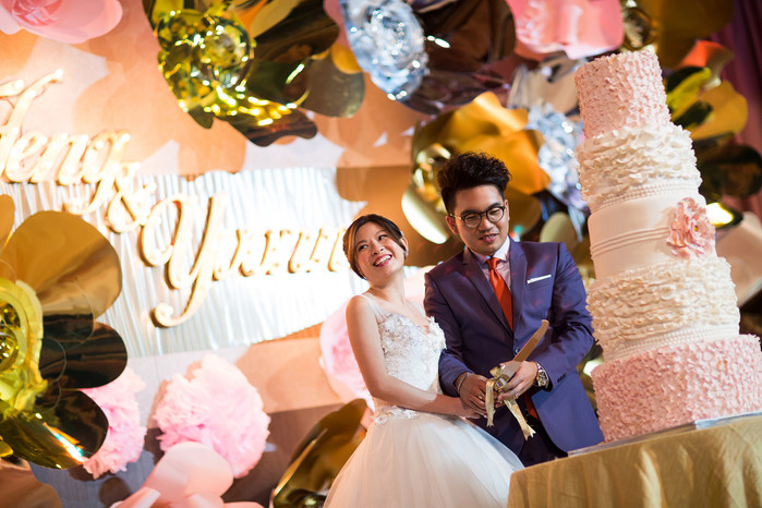 Yvonne and Lee Heng: A romantically crafted wedding