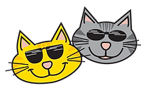 Smiling Catz Digital Marketing two cats image
