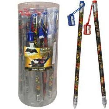 """Batman vs Superman 15"""" Jumbo Pencil W/ Sharpener in Display"""