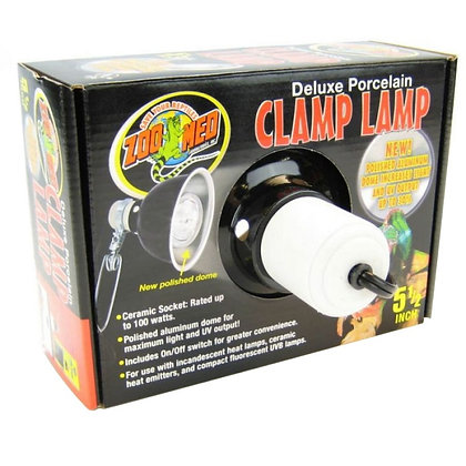 "8.5"" Clamp Lamp"