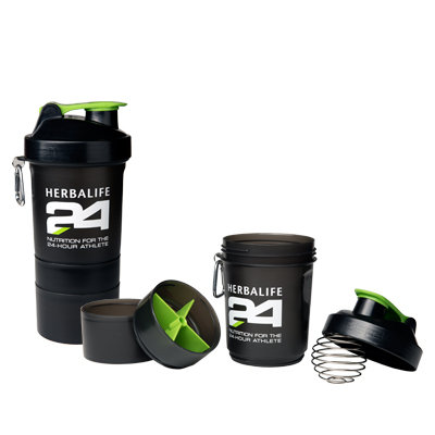 SMART Super Shaker 3 en 1 Herbalife H24 Shaker 400 ml