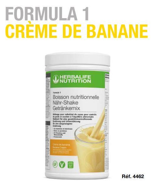 Crème de Banane Shake FORMULA 1 550g (21 portions)