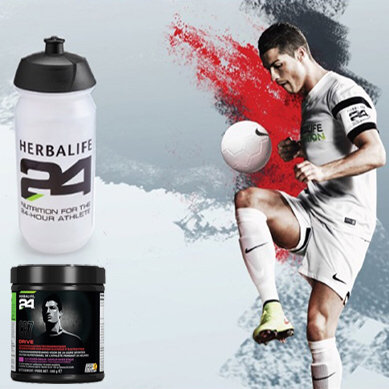 Gourde sport CR7 transparente 550 ml Herbalife