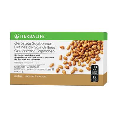 Geröstete Sojabohnen Gesunder, herzhafter Snack (12 Stk)