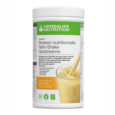 CREME DE BANANE Shake VEGAN FORMULA 1 550g (21 portions)