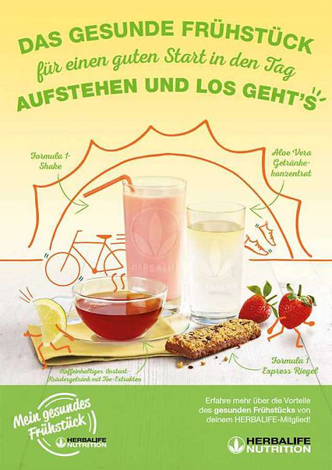 Programm -  Perfektes Frühstück + Starter Kit