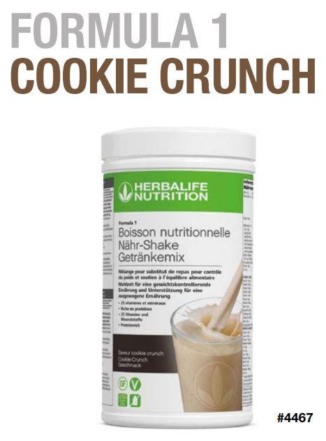 Cookie Crunch FORMULA 1 VEGAN (21 Portionen)
