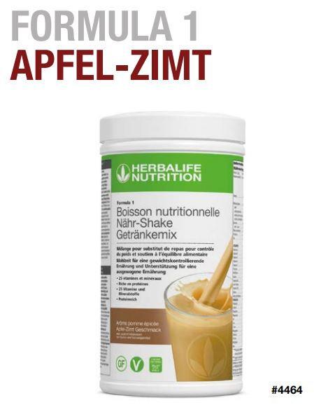 Apfel-Zimt Shake FORMULA 1 VEGAN (21 Portionen)