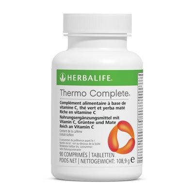 Thermo Complete® vitamine C, thé vert et yerba maté (90 tablettes par boîte)