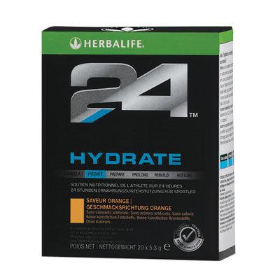 Hydrate saveur orange, boîte de 20 sachets individuels