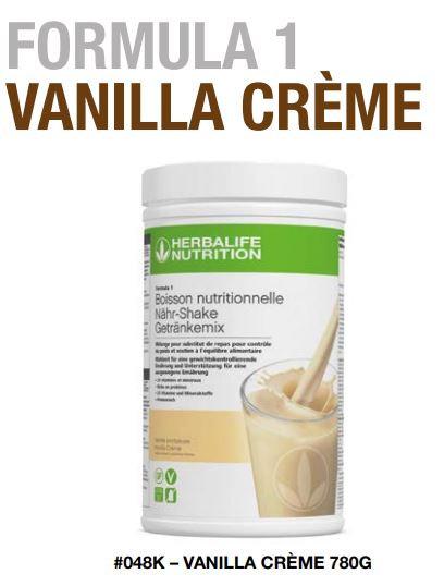VANILLE Shake Vegan FORMULA 1 (780gr) 30 Portionen