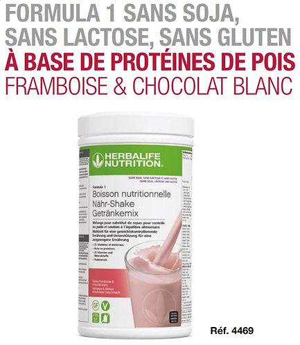 Framboise & Chocolat Blanc Shake Formula 1