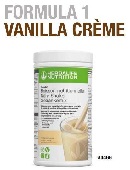 VANILLE Shake Vegan FORMULA 1 (21 Portionen)