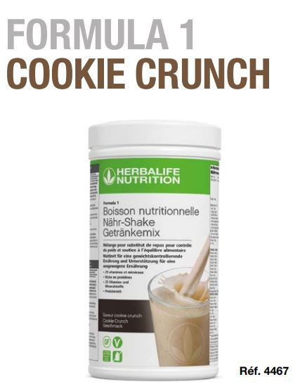 Cookie Crunch Shake Vegan FORMULA 1 550g (21 portions)