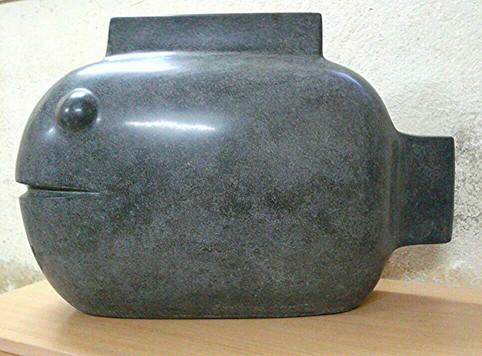 FISH,-FRP-TERRAZZO(SIZE-L-650mm-B-230mm-H-435mm)-1