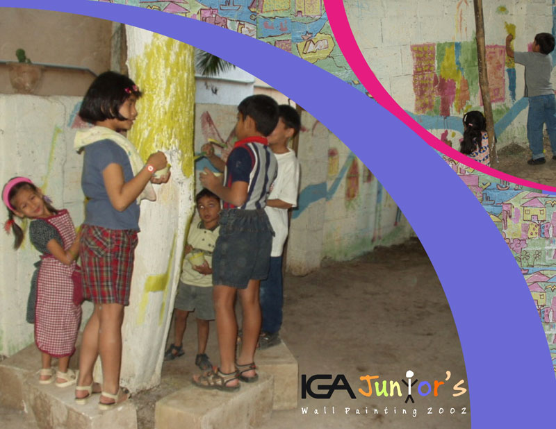 IGA Junior Wall Painting- Pune 2002