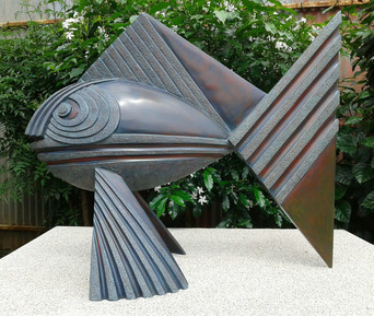 FISH,-FRP-WITH-DUCO-PAINT-(SIZE-L-880mm-B-490mm-H-740mm)-