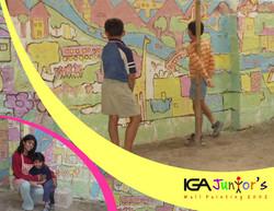 IGA Junior Wall Painting- Pune 2002