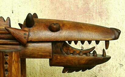 ANIMAL,-WOOD(SIZE-L-720mm-B-180mm-H-210mm)