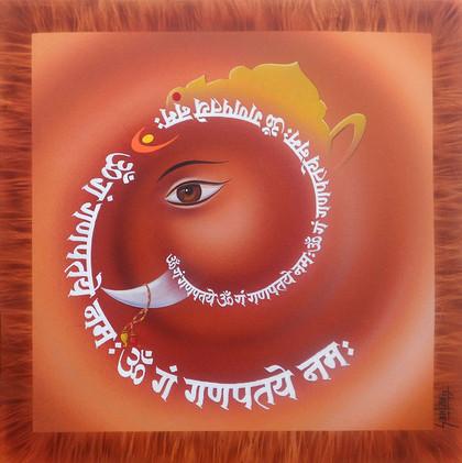 Callygraphy Ganesh