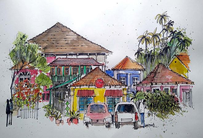 Location Sketch 8