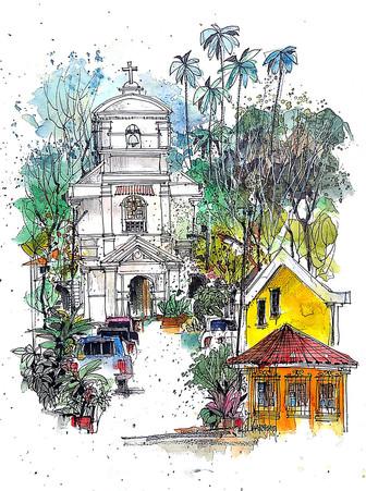 Location Sketch 7