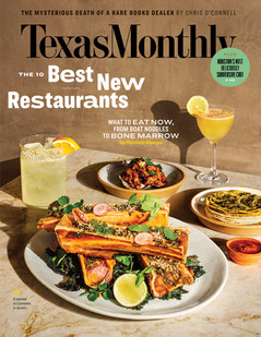 Texas Monthly March 2020