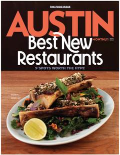 Austin Monthly Best New Restaurants 2019