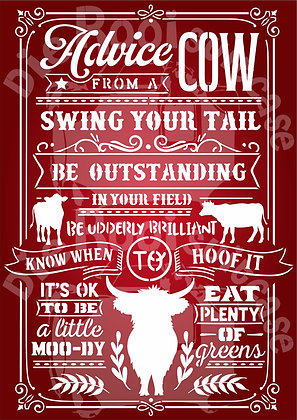 Advice from a Cow
