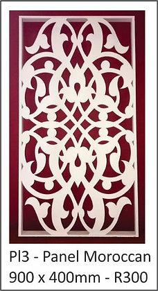Panel Moroccan 900 x 400mm