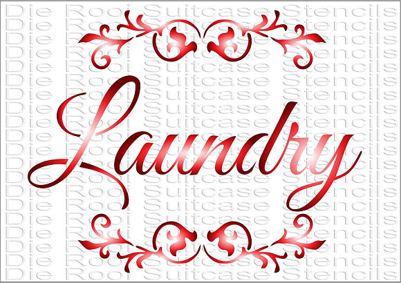 Laundry with scrolls