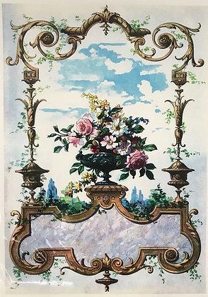Vintage Framed Flowers