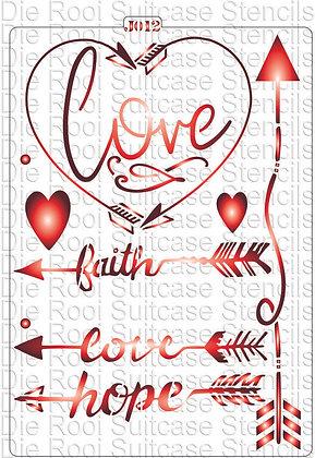 J012 Love in Arrows