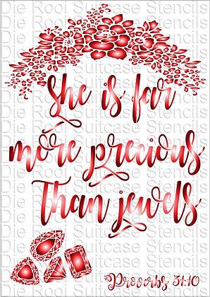 Proverbs 31:10 More precious than Jewels