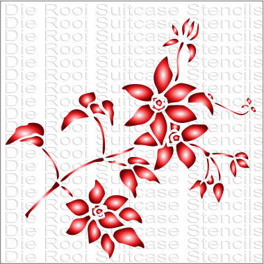 Small Flowers 10x10cm