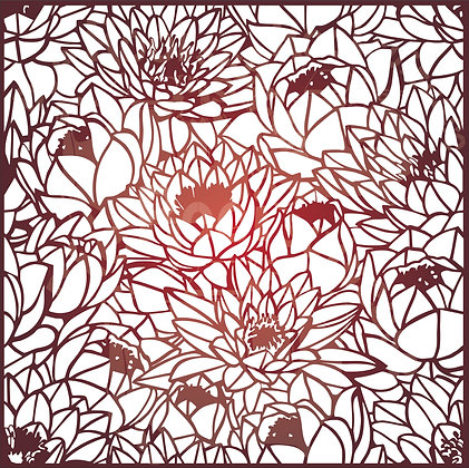 Protea Wall Pattern