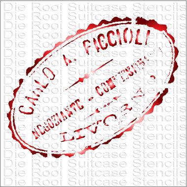 Carlo Stamp 10x10cm