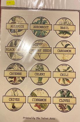 Herbs & spices 1 A4