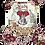 """Thumbnail: Burlesque - 43x50cm (17x19"""") Portrait (Solid Design)"""