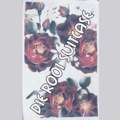 Red Roses Silkpaper