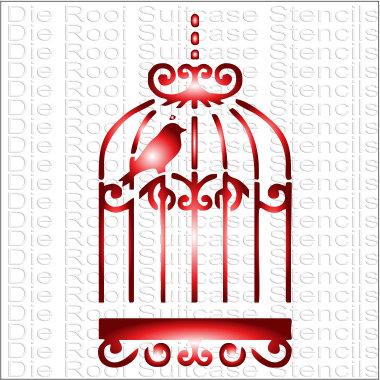 Birdcage 3 10x10cm