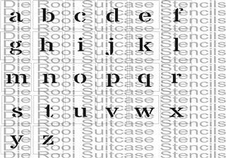 Alphabet Small Caps