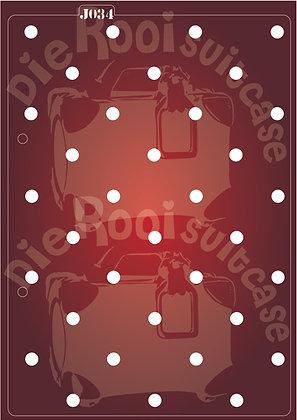 J034 Dots Journaling Stencil