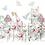 "Thumbnail: Peony Fields - 89 X 59cm (35x23"") Landscape (Solid Design)"